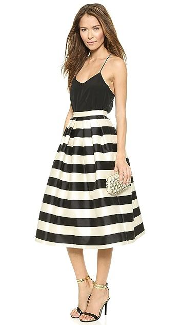Tibi Широкая юбка со складками