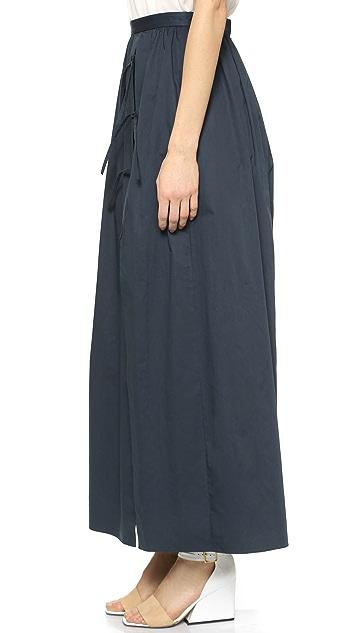 Tibi Long Skirt with Shorts