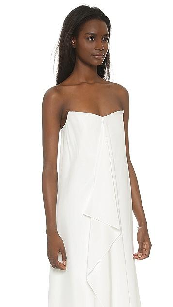 8a62b5055350 Tibi Strapless Silk Towel Dress | SHOPBOP