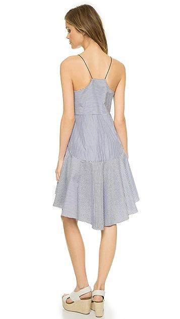 Tibi Stripe Cami Dress
