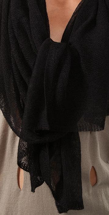 Tilo Cashmere Gauze Knit Scarf