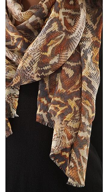 Tilo Reptile Print Scarf