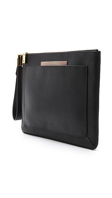 Time's Arrow Luggage Ishi Wristlet