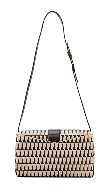 Time's Arrow Orion Print Clutch