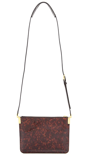 Time's Arrow Ishi Patent Cross Body Bag