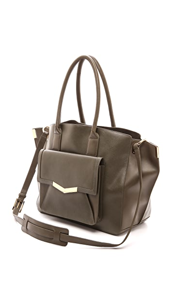 Time's Arrow Saffiano Jo Tote