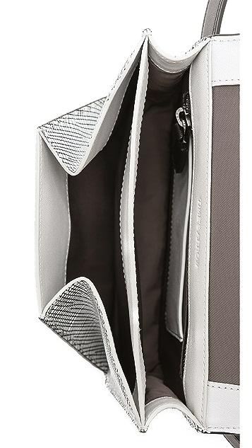 Time's Arrow Grid Dance Belt Bag