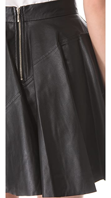 Timo Weiland Leather Skirt