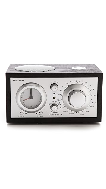 Tivoli Audio Model Three Bluetooth Clock Radio