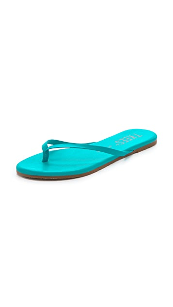 TKEES Polishes Thong Sandals