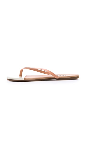 TKEES French Tips Flip Flops