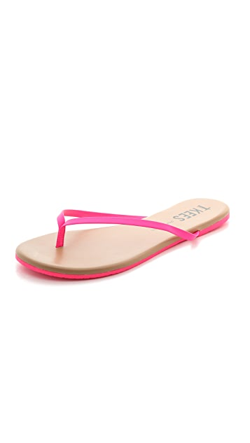 TKEES Pop Colors Flip Flops