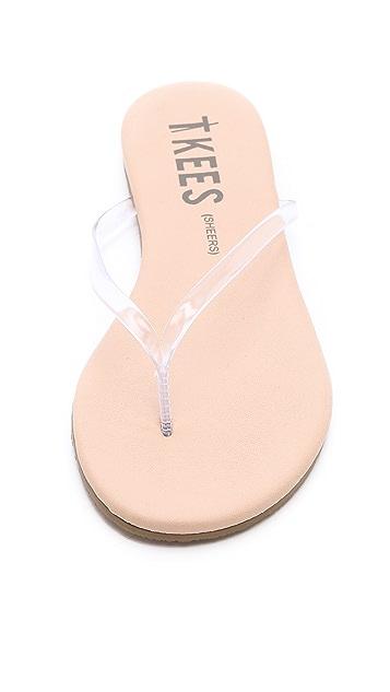 TKEES Sheers Flip Flops