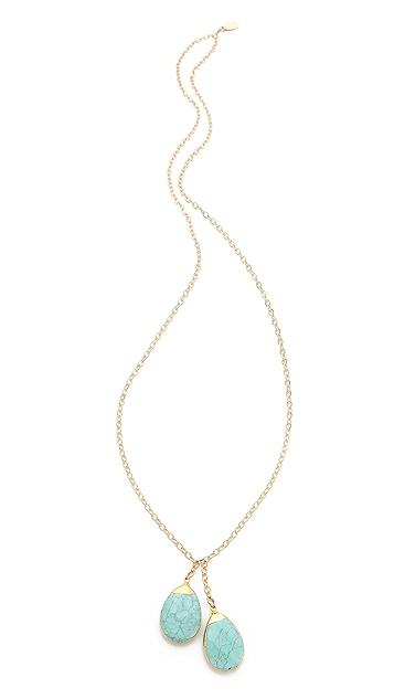 T. Kilburn Turquoise Drop Necklace
