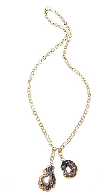 T. Kilburn Slice Geode Necklace