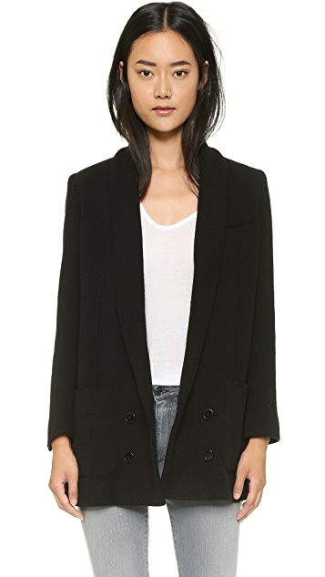 The Kooples Double Breasted Oversize Jacket