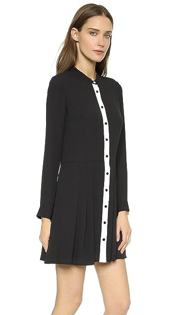 be5eccff7a The Kooples Silk Portfolio Dress | SHOPBOP