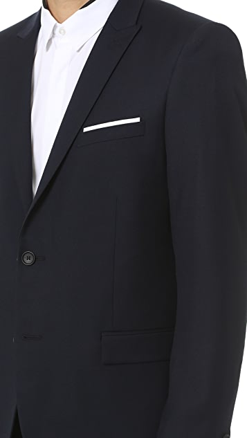 The Kooples Super 100s Suit Jacket