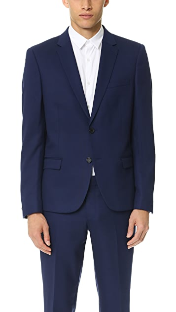 The Kooples Pique Suit Jacket