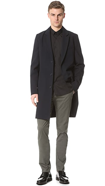 The Kooples Stretch Poplin Shirt