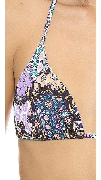 Tigerlily Baroque Tara Bikini Top
