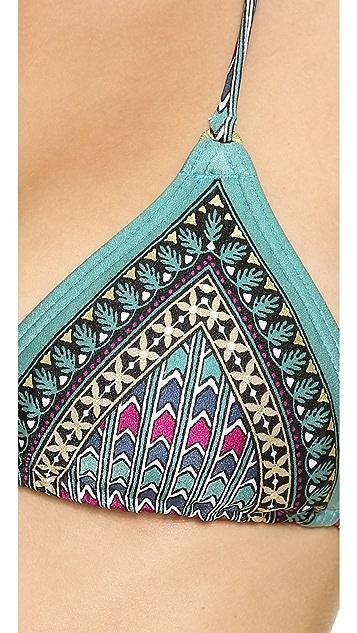 Tigerlily Nefertiti Tara Triangle Bikini Top