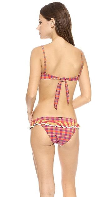 Tigerlily Kashmiri Bandeau Bikini Top