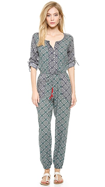 Tigerlily Grimaud Paisley Jumpsuit