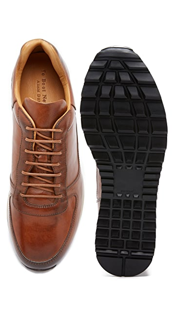 To Boot New York Sheridan Burnished Leather Runners