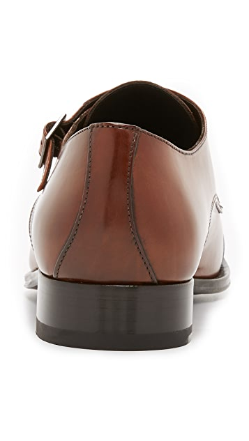 To Boot New York Medford Double Monk Strap Shoes