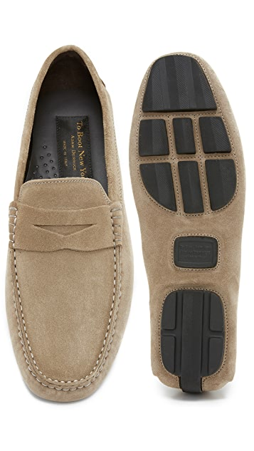 To Boot New York Ashton Suede Drivers