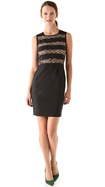 Tocca Penny Lace Panel Dress