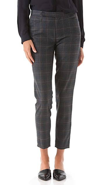 Tocca Jed Plaid Suit Pants