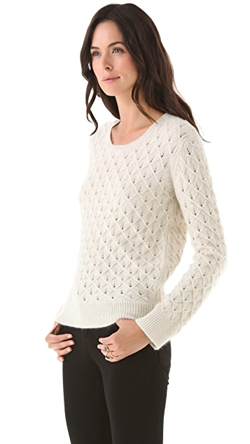 Tocca Argyle Pullover Sweater