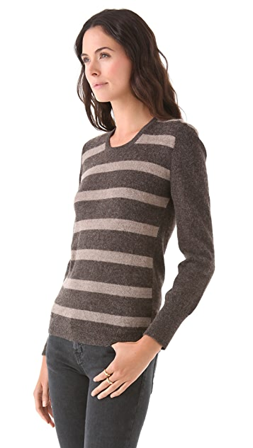 Tocca Striped Pullover Sweater