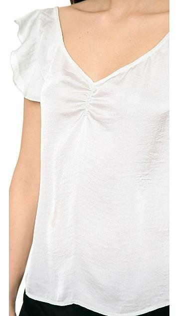 Tocca Flutter Sleeve Top