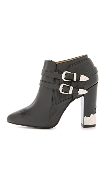 Toga Pulla Heeled Buckle Booties