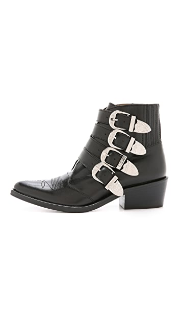 Toga Pulla Buckled Booties