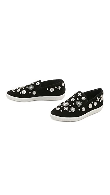 Toga Pulla Emebllished Slip on Sneakers