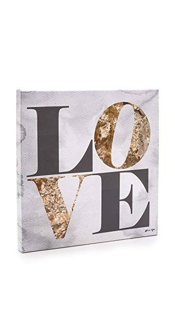 The Oliver Gal Artist Co. Build on Love Stone Sign