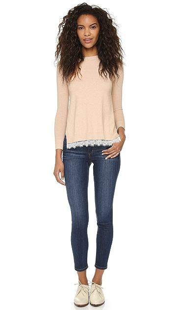 Top Secret Queens Lace Sweater