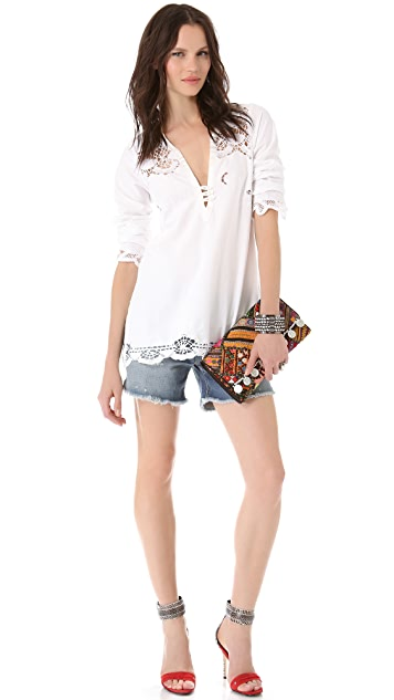 Burning Torch Tulum Blouse