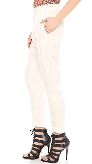 Burning Torch Ebony & Ivory Pants