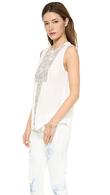 Burning Torch Magellan Blouse