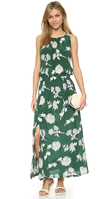 Burning Torch Floral Dress