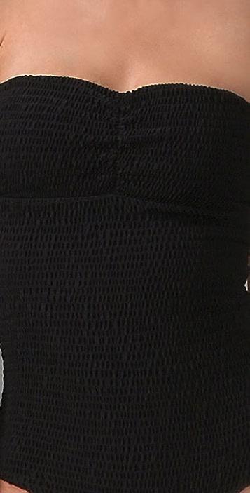Tori Praver Swimwear Lucy Strapless One Piece