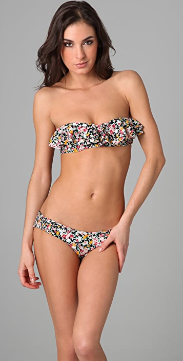 Tori Praver Swimwear Hula Bikini Top