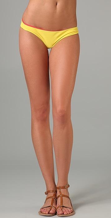 Tori Praver Swimwear Reversible Kalani Bottom