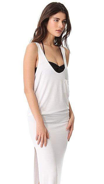 Tori Praver Swimwear Cover Up Maxi Dress