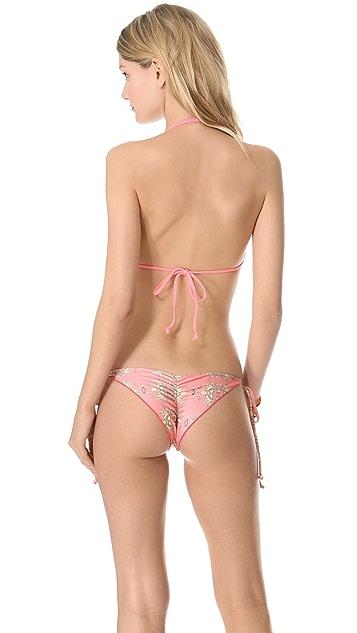 Tori Praver Swimwear Shyla Reversible Bikini Top